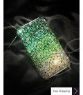 Gradation Crystallized Swarovski Phone Case - Green