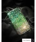 Gradation Crystallized Swarovski Phone Case - Green