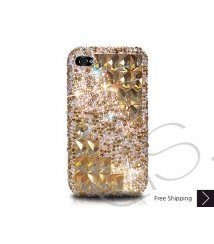 Symmetric Crystallized Swarovski Phone Case