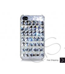 Cubical Ice Queen Crystallized Swarovski Phone Case