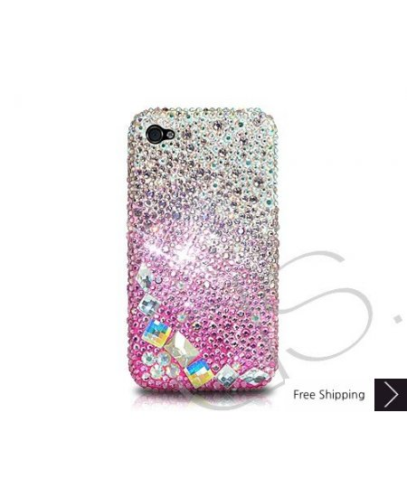 Diamond Pink Crystallized Swarovski Phone Case