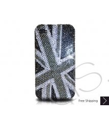 Mini Coper S Crystallized Swarovski Phone Case - Black