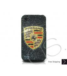 Porsche Bling Swarovski Crystal iPhone XS and MAX iPhone XR Case
