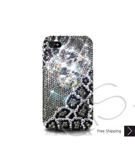 Iron Wire Crystallized Swarovski Phone Case