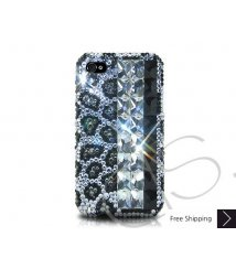 Diamond Print Crystallized Swarovski Phone Case