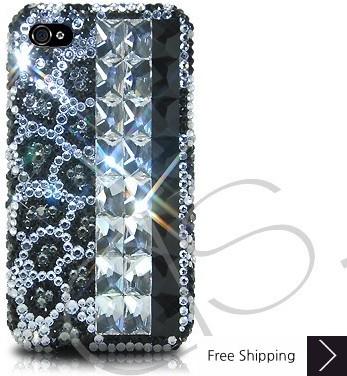Diamond Print Crystallized Swarovski Phone Case