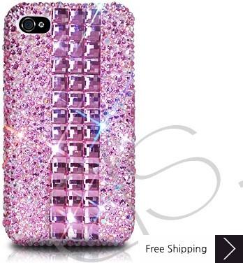 Cubical Pink Lady Crystallized Swarovski Phone Case
