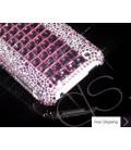 立方体ピンク レディー結晶スワロフ スキー電話ケース