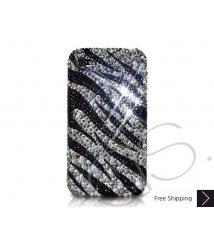 Zebra Wave Crystallized Swarovski Phone Case