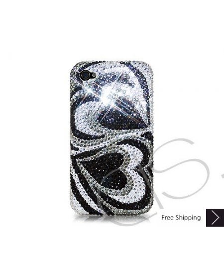 Duo Hearts Crystallized Swarovski Phone Case