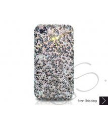 Scatter Crystallized Swarovski Phone Case - Black