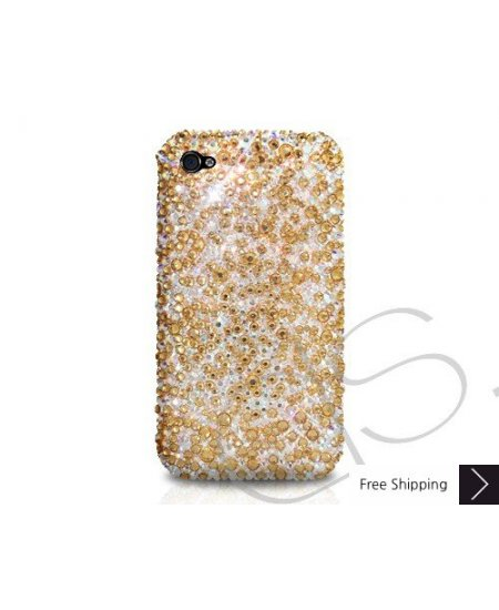 Scatter Crystallized Swarovski Phone Case - Gold