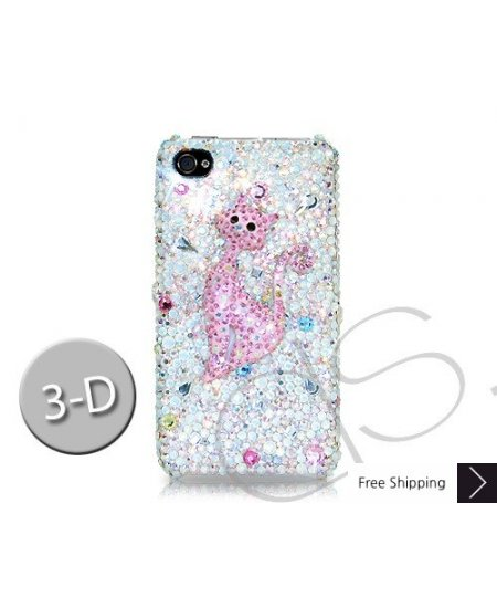 Catty 3D Crystallized Swarovski Phone Case