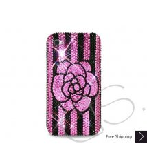 Blossom Crystallized Swarovski Phone Case - Stripe