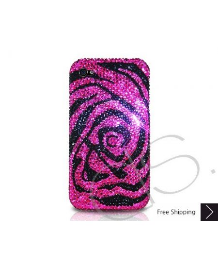 Rose Pink Crystallized Swarovski Phone Case