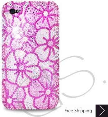 Blossom Crystallized Swarovski Phone Case - Pink