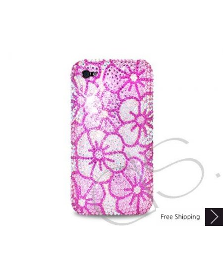 Blossom Crystallized Swarovski Phone Case - Pink