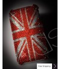Mini Coper Crystallized Swarovski Phone Case - Red