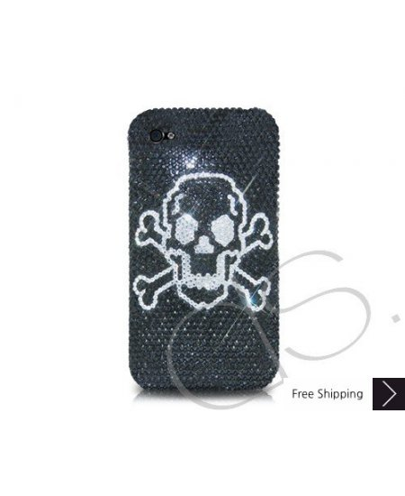 Poison Crystallized Swarovski Phone Case - Black