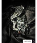 Smoking Skull Crystallized Swarovski Phone Case