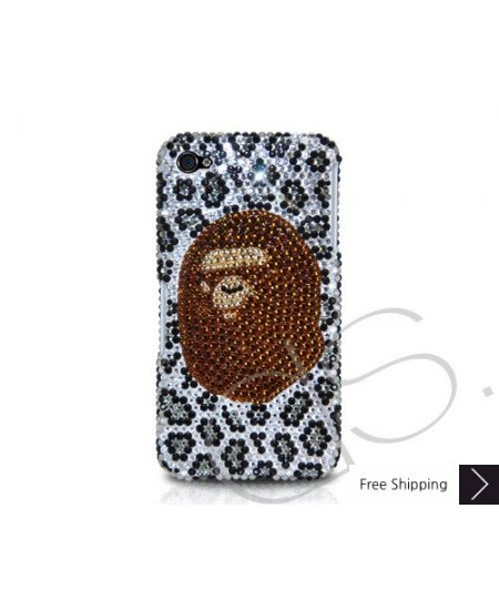 Bathing Ape Crystallized Swarovski Phone Case