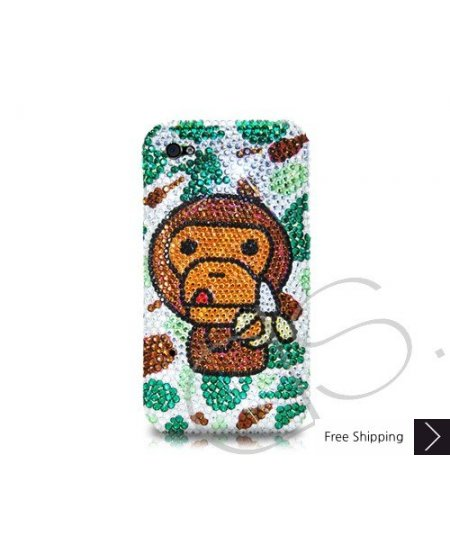 Ape for Banana Crystallized Swarovski Phone Case