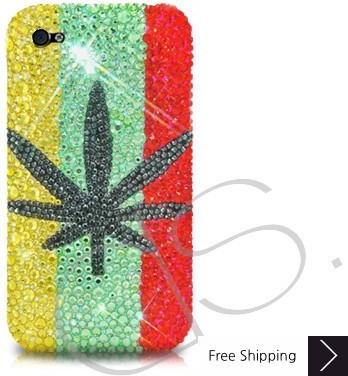 Leaf Crystallized Swarovski Phone Case