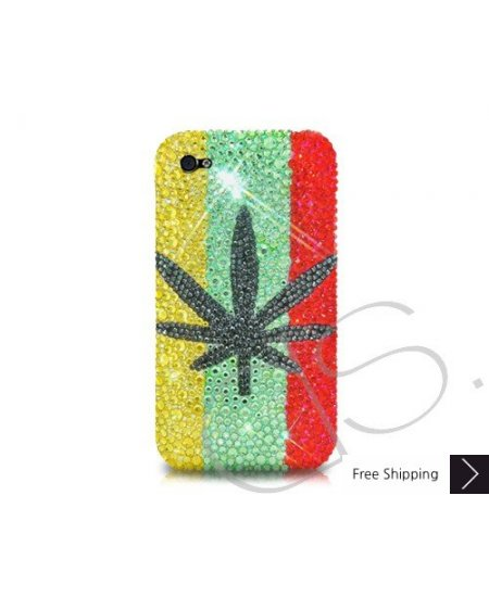 Leaf Crystallized Swarovski Phone Case