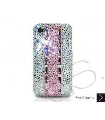 Stitching Pink Crystallized Swarovski Phone Case
