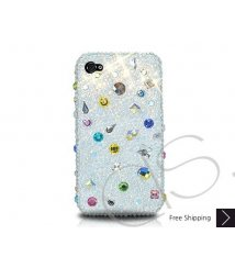 Drops Scatter Crystallized Swarovski Phone Case