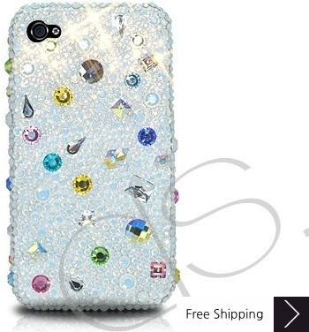 Drops Scatter Crystallized Swarovski Phone Case