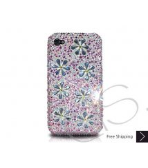 Petal Drops Crystallized Swarovski Phone Case - Pink