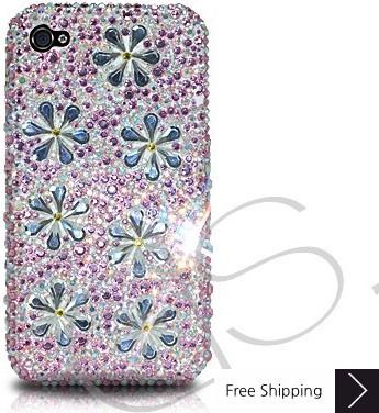 Petal Drops Crystallized Swarovski Phone Case - Pink