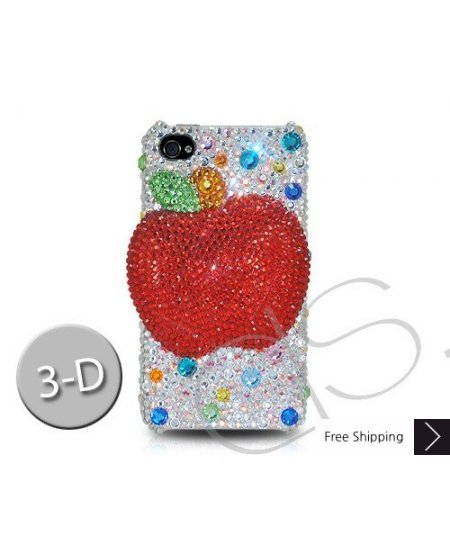 Apple 3D Crystallized Swarovski Phone Case