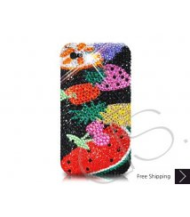 Fruit on Hands Crystallized Swarovski Phone Case