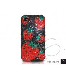 Strawberry Red Crystallized Swarovski Phone Case