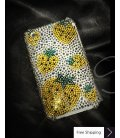 Strawberry Yellow Crystallized Swarovski Phone Case