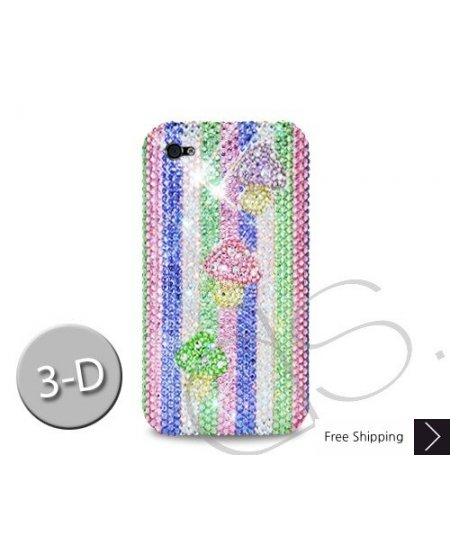 Mushroom 3D Crystallized Swarovski Phone Case