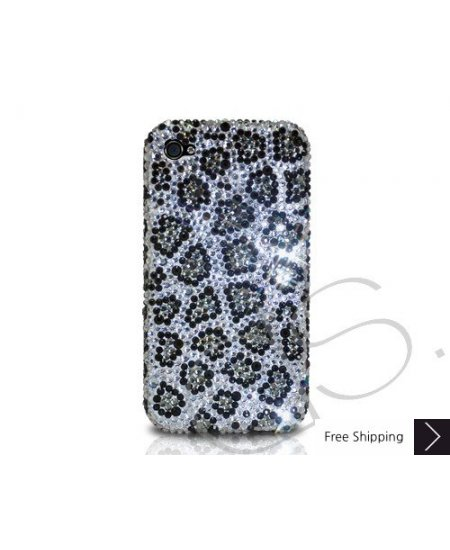 Leopardo Scatter Crystallized Swarovski Phone Case