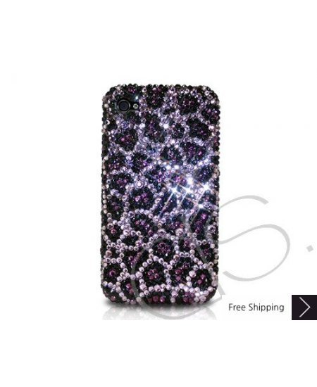 Leopardo Blossomed Crystallized Swarovski Phone Case