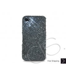 Organize Crystallized Swarovski Phone Case - Black