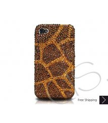 Giraffe Crystallized Swarovski Phone Case - Gold