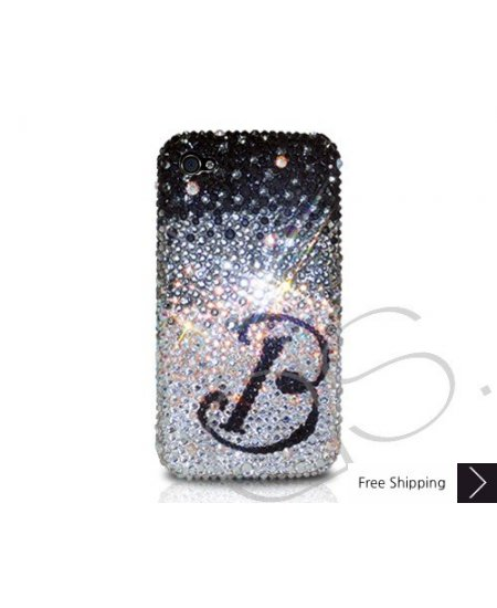 Gradation Personalized Crystallized Swarovski Phone Case - B series