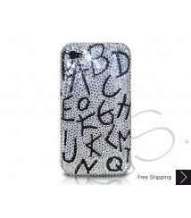Alphabets Crystallized Swarovski Phone Case