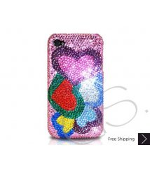 Loving Hearts Crystallized Swarovski Phone Case