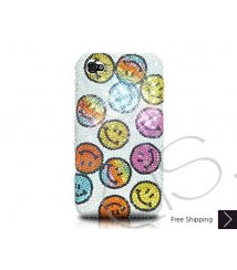Smile Icon Crystallized Swarovski Phone Case