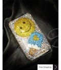 Smile Ice Cream 3D Crystallized Swarovski Phone Case