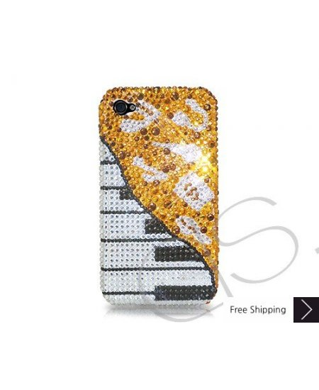 Piano Crystallized Swarovski Phone Case