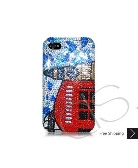 Clock Tower Crystallized Swarovski Phone Case