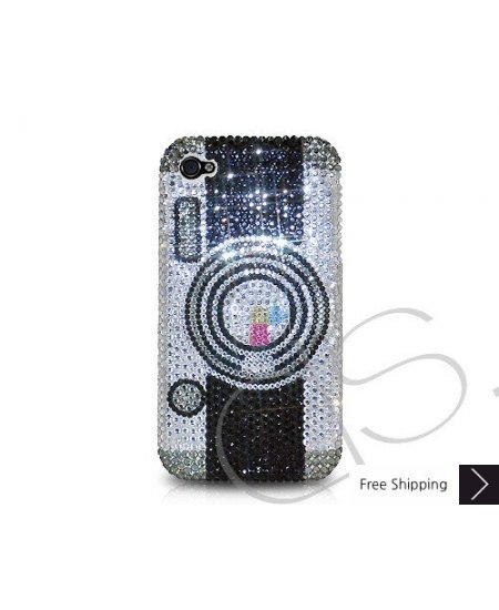 Camera Crystallized Swarovski Phone Case